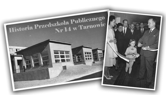 Archiwalne zdjęcia przedszkola publicznego nr 14 w Tarnowie
