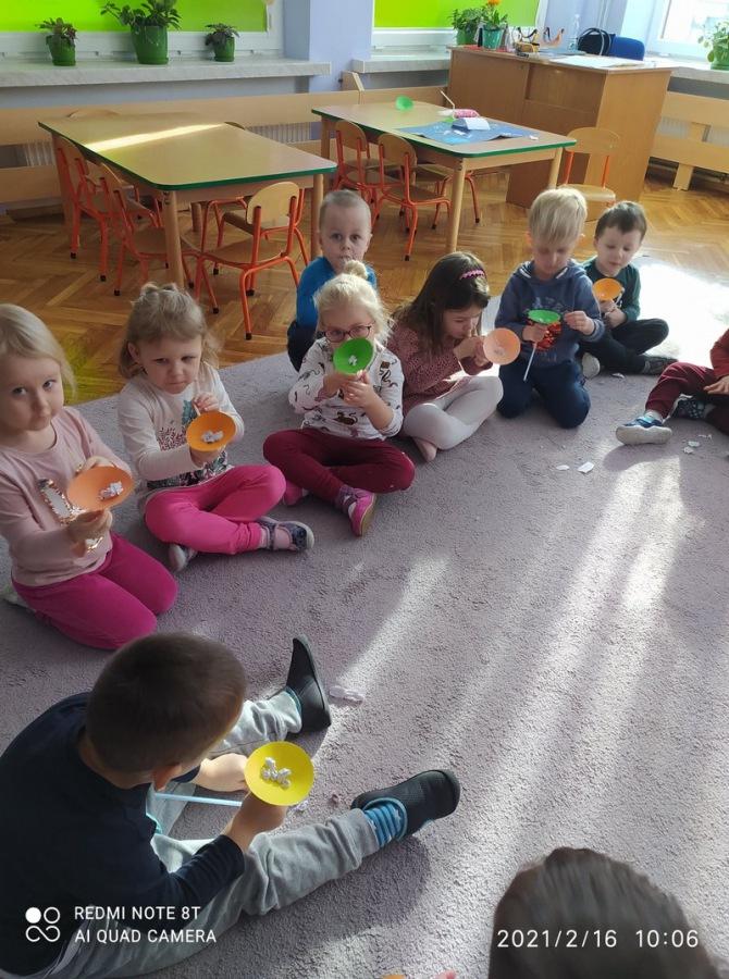 Dzieci w grupie I