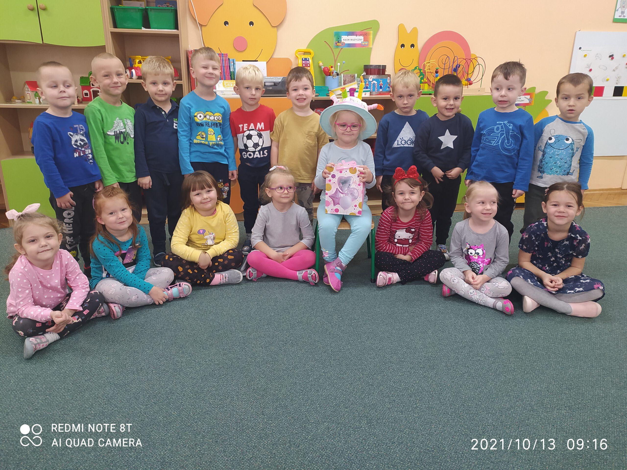 Dzieci z grupy II.